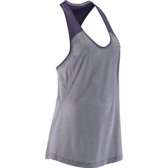 Salomon Women's Elevate Tank Tunic Nightshade Grey