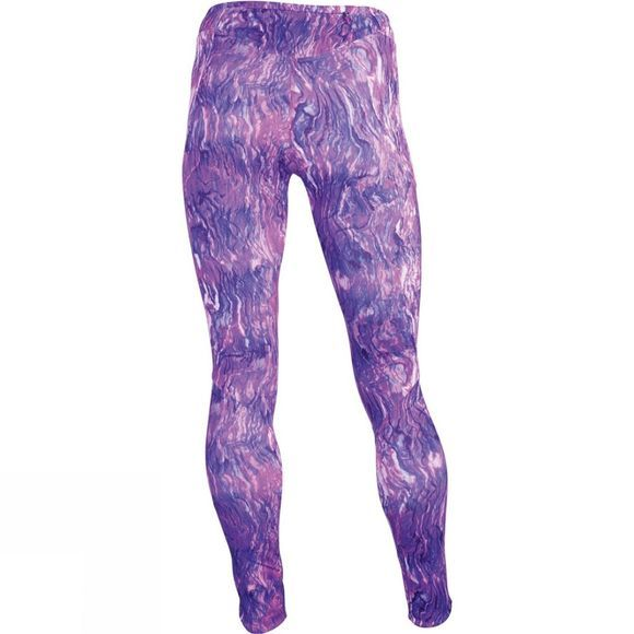 The North Face Womens Motus Tights III Wood Violet Oil Spill Print