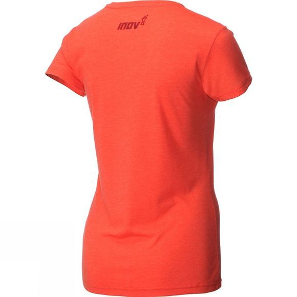 Inov-8 Womens At/C Tri Blend Transition Running T-Shirt Grip Coral
