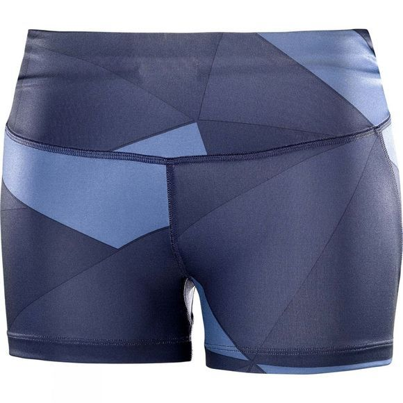 Salomon Womens Agile Short Tight Night Sky/Graphite/Crown Blue