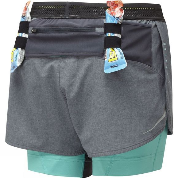 Womens Infinity Marathon Twin Shorts