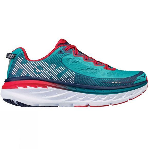 Hoka One One Mens Bondi 5 Shoe Tile Blue/Peacoat