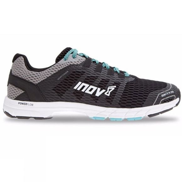 Inov-8 Mens Roadtalon 240 Road Running Shoe Black/Grey/Blue