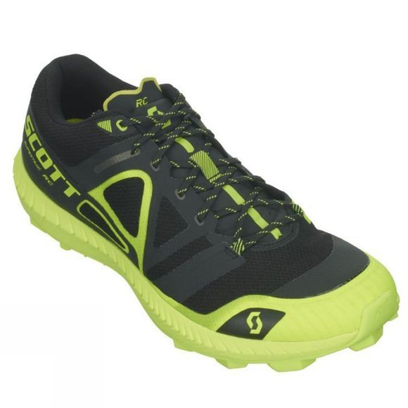 Scott Mens Supertrac RC Shoe Black/Yellow