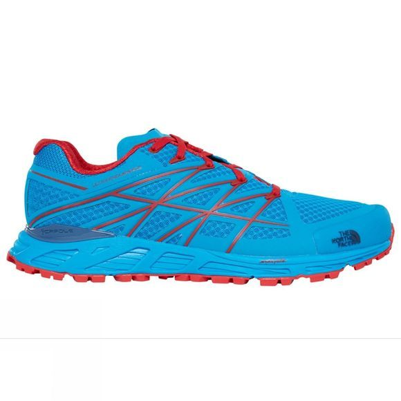 The North Face Mens Ultra Endurance Shoe Hyper Blue/High Risk Red