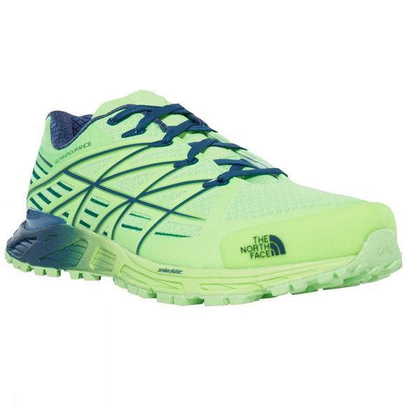 The North Face Mens Ultra Endurance Shoe Power Green / Shady Blue