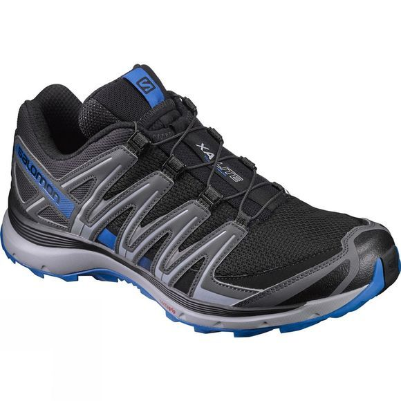 Salomon Mens XA Lite Shoe Black/Imperial Blue
