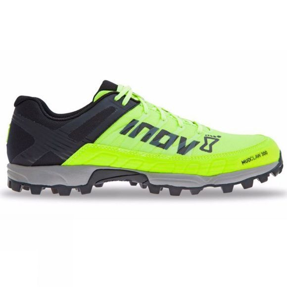Inov-8 Mens Mudclaw 300 Trail Running  Shoe Neon Yellow/Black/Grey