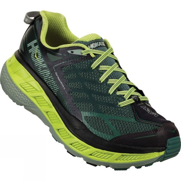 Hoka One One Mens Stinson ATR 4 Nine Iron / Silver Pine