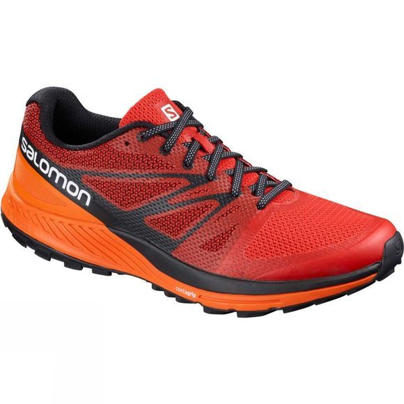 Salomon Mens Sense Escape Shoe Fiery Red/Scarlet Ibis/Black