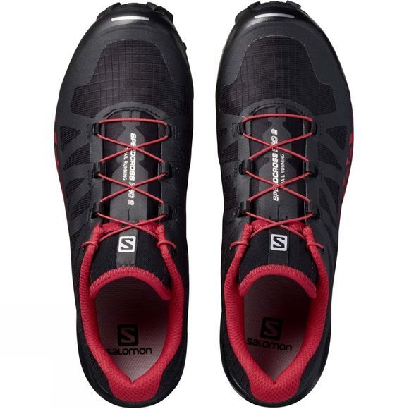 Salomon Mens Speedcross Pro 2 Shoe Black/Barbados Cherry/Black
