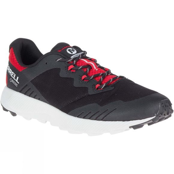 Merrell Men's Fluxion Gtx Shoe Black/Red