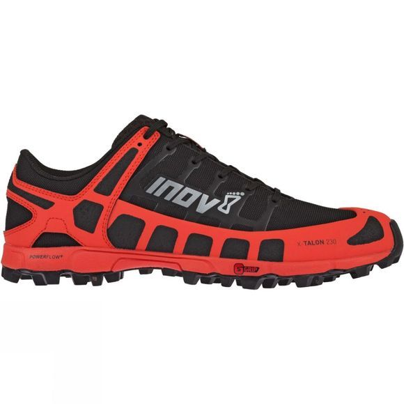 Inov-8 Mens X-Talon 230 Trail Running Shoe Black/Red