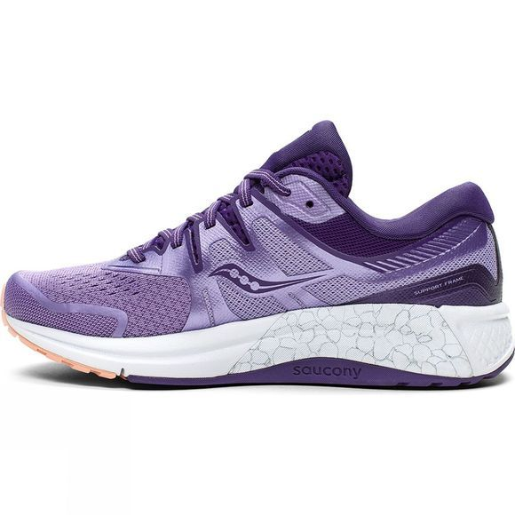 Saucony  Womens Omni ISO 2 Purple / Peach