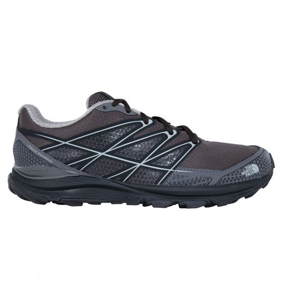 The North Face Womens Litewave Endurance Shoe Dark Gull Grey/Foil Grey
