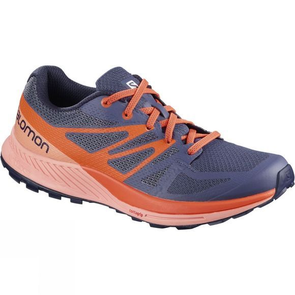 Salomon  Womens Sense Escape Crown Blue/Coral Almond/Nasturtium