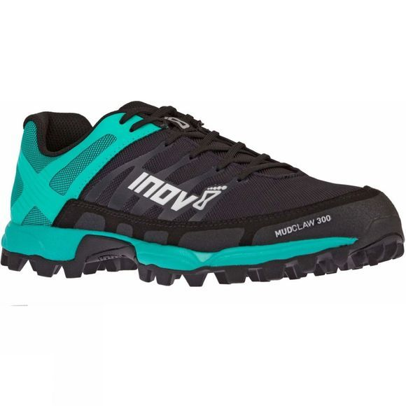 Inov-8 Womens MudClaw 300 Shoe Black/Teal