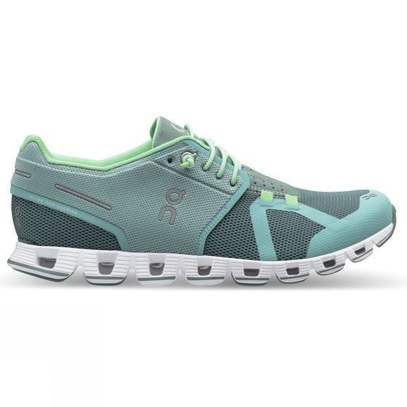On Womens Cloud Running Shoe Spray/Sea