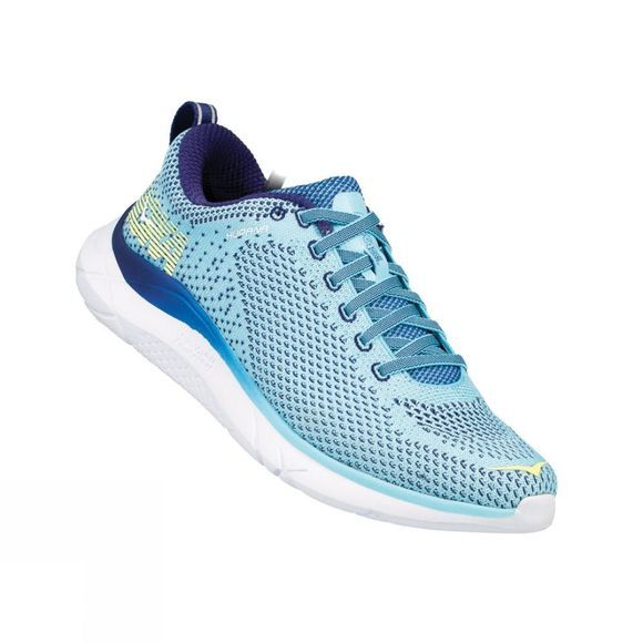 Hoka One One Womens Hupana Shoe Blue Topaz/Blueprint