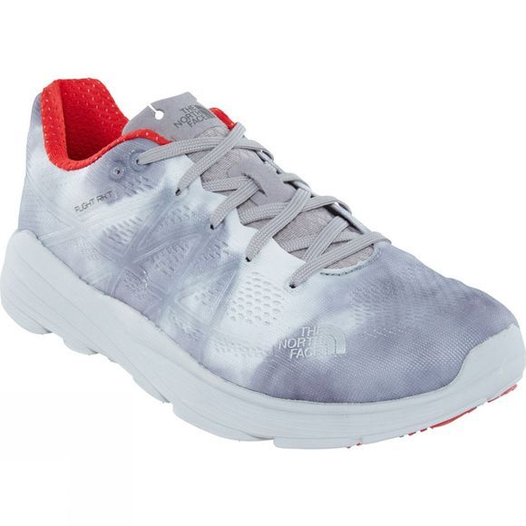 The North Face Womens Flight RKT Shoe Flagstaff Storm Print/Foil Grey