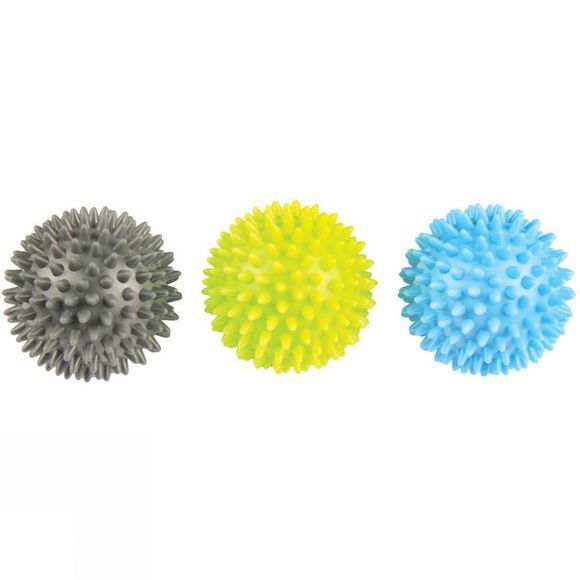 Fitness Mad Spikey Massage Ball Set of 3 Multi