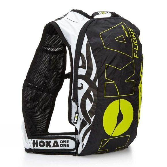 Hoka One One F-Light Rucksack BLACK / WHITE / CITRUS