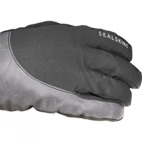 SealSkinz Thermal Reflective Cycle Gloves Black