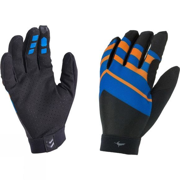 SealSkinz Dragon Eye MTB Ultralite Gloves Black/Blue/Orange