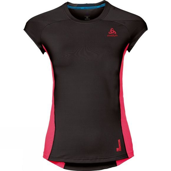 Womens Ceramicool Pro Base Layer SS Top
