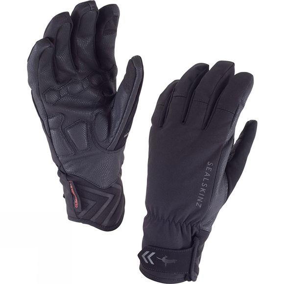 SealSkinz Womens Highland Gloves Black/Black