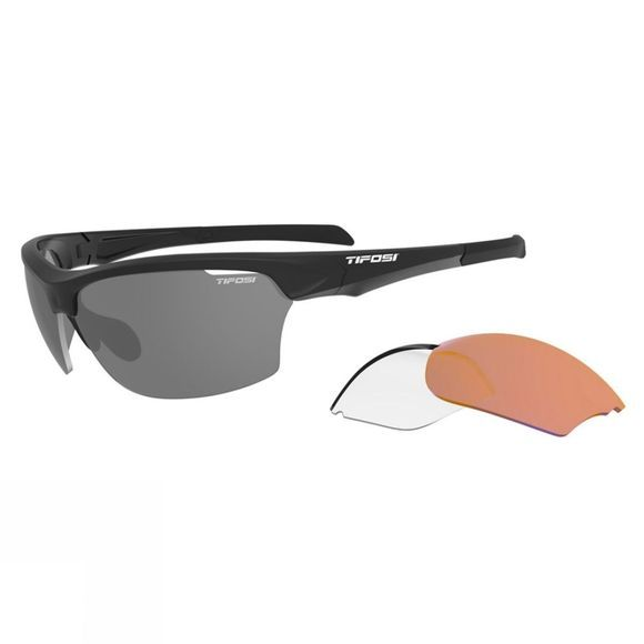 Tifosi Intense Sunglasses Interchangable  Matte Black