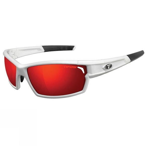 Tifosi Camrock Sunglasses Matte White / Clarion Red