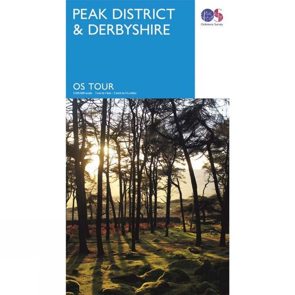 Peak District & Derbyshire Tour Map
