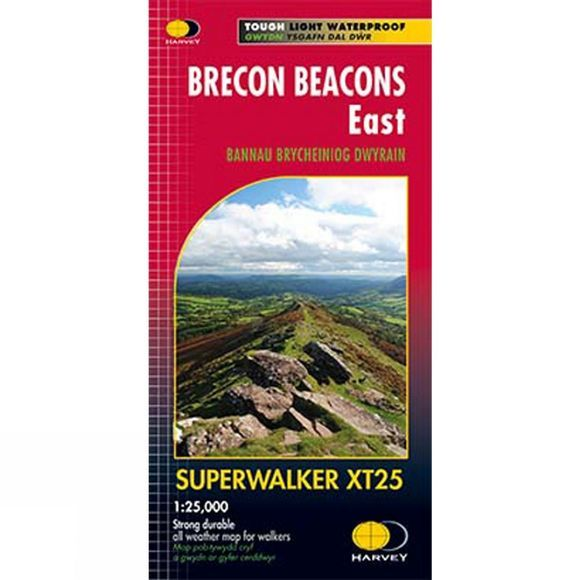 Brecon Beacons East Map 1:25K