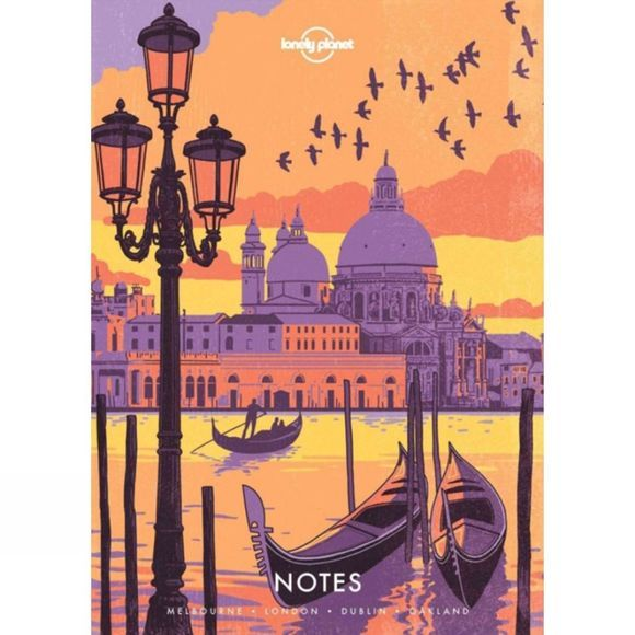 Lonely Planet Notebook - Europe 1st ed, July 2017
