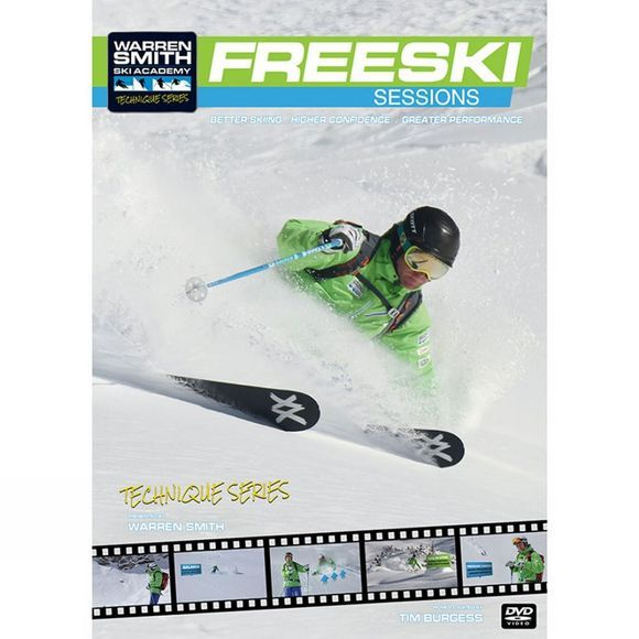 Warren Smith Freeski Sessions DVD No Colour