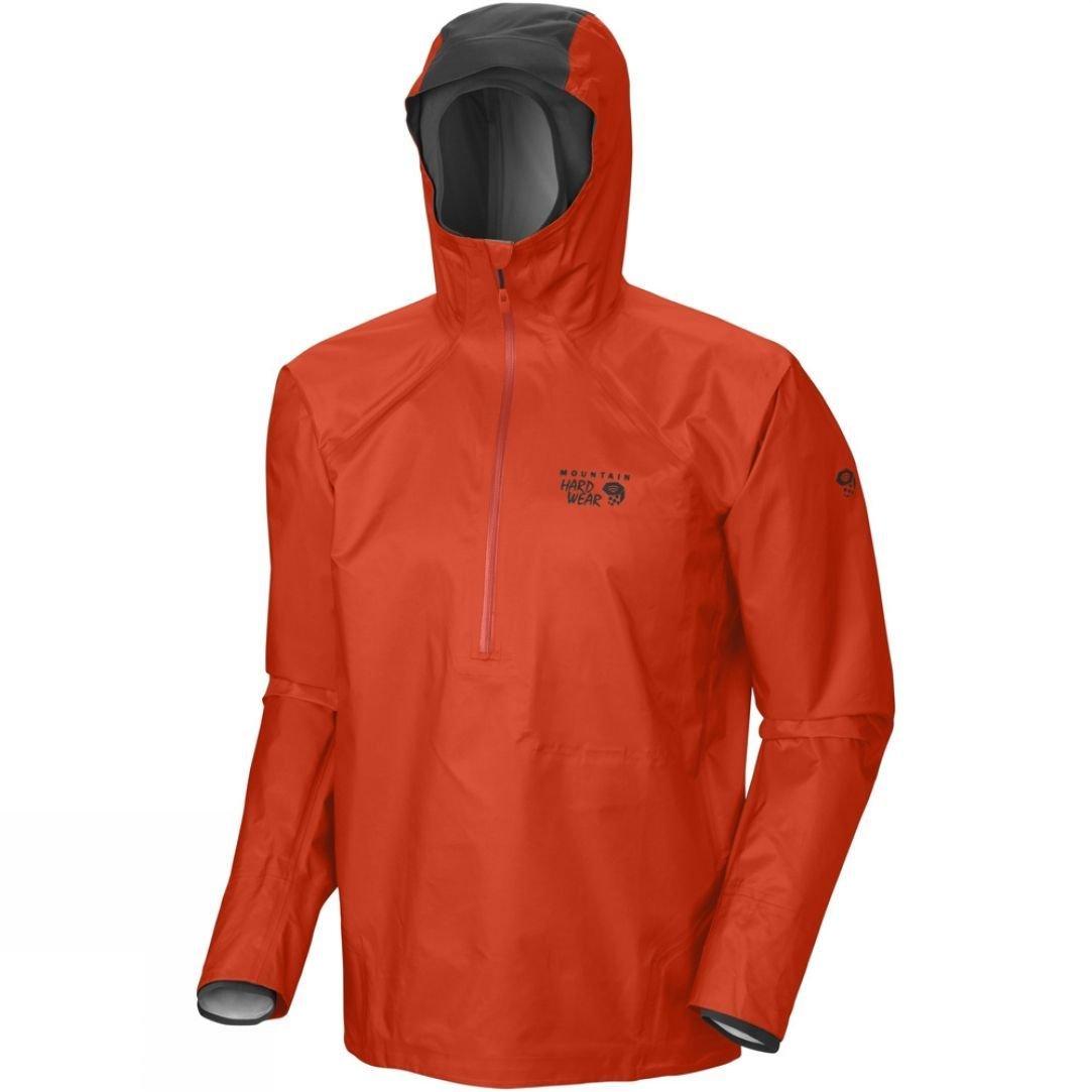 Mountain hardwear men's quasar hybrid pullover jacket