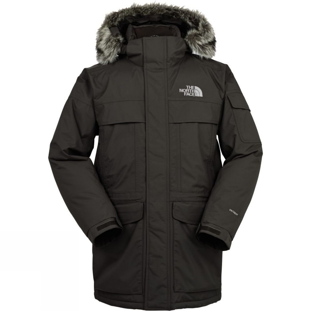 ... in 1 Hooded Waterproof Jacket - Black The North Face Mens McMurdo Parka  Snow+Rock ... a799255be