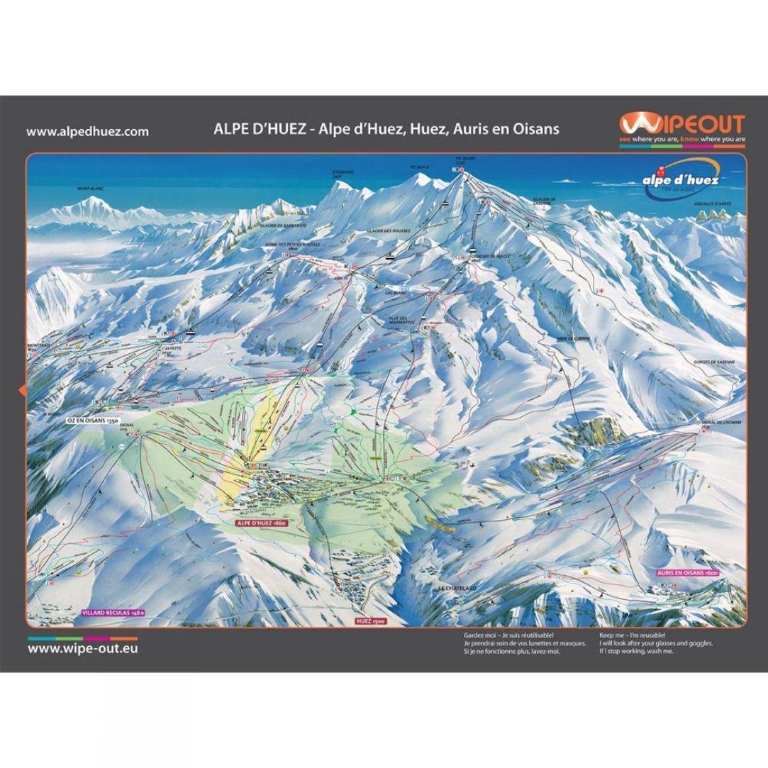 Alpe d huez piste map