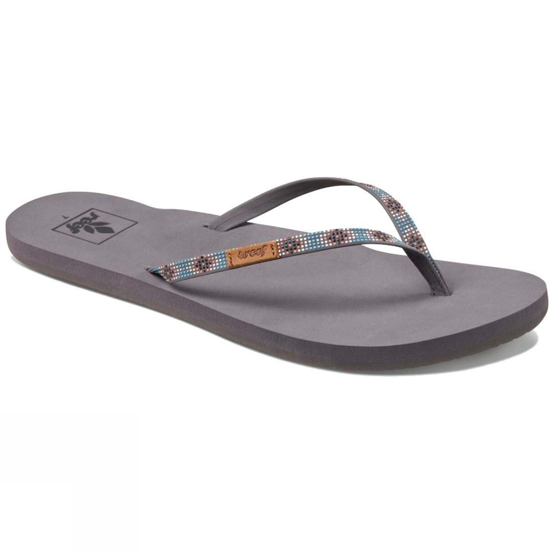 8706711a5eba Reef Womens Slim Ginger Beads Flip Flop